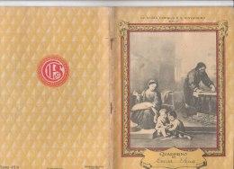 Q359 QUADERNO SCUOLA Anni '40 - SERIE 48/A - LA SACRA FAMIGLIA E S.GIOVANNINO (MURILLO) - MATEMATICA - Vieux Papiers