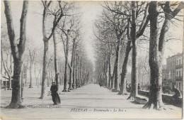 "PEZENAS  (cpa 34)  Promenade ""le Pré"" - Pezenas"