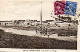 CPA - QUEND-PLAGE (80) - Sports Et Jeux De Plage En 1937 - Char à  Voiles - Quend