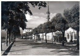 Carte Postale Ancienne Cuneo Corso Gesso  (LOT AB16) - Cuneo