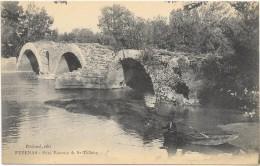 PEZENAS  (cpa 34)  Pont Romain De St Thibéry - Pezenas