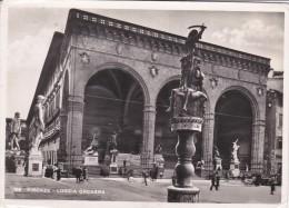 Italy 1947 Used Postcard Firenze Loggia Orcagna, Postmark Mostra Dárte Antica Fiamminga E Olandese - 6. 1946-.. Repubblica