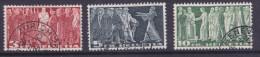 SUISSE, 1938, N° 313/315 B,oblitéré  ( 1524/29) - Gebraucht