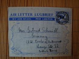 Südafrika, Luftpostbrief Nach Brake, Gelaufen 1951 ! - Luftpost