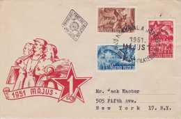 Hungary; May 1st. 1951 FDC - FDC