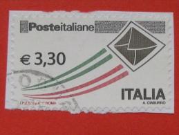 ITALIA USATI 2009 - POSTA ITALIANA EURO 3,30 - SASSONE 3105A - RIF. G 1963 - 2001-10: Used