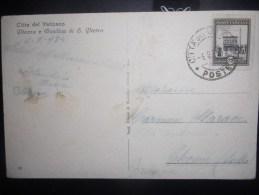 Vatican , Carte De 1934 Pour La France - Lettres & Documents