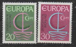 Europa Cept 1966 Germany 2v ** Mnh (LT610) - Europa-CEPT
