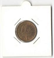 1 Drachma 1980 (Greece, Grece, Griechenland, Griekenland, Grecia, Drachmai Coin) - Greece