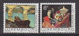 Europa Cept 1975 Luxemburg 2v ** Mnh (19751E) Promo - Europa-CEPT