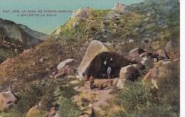 POSTAL DE ARGENTINA DE LA CASA DE PIEDRA - CAMINO A CHILECITO LA RIOJA DEL AÑO 1923 - Argentinië