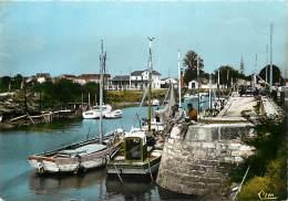 Gd Format Div -ref R594- Charente Maritime - La Tremblade - Le Port - Pecheurs A La Ligne - Carte Bon Etat - - La Tremblade