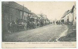 80  Mailly-Maillet - Départ De Voiture D'ambulance Pour Le Front - Otros Municipios
