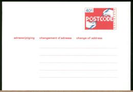 NEDERLAND -  Intero Postale - POSTCODE - Postal Stationery