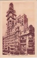 21 POSTAL DE BUENOS AIRES DEL EDIFICIO BAROLO DEL AÑO 1928 (ARGENTINA) - Argentinië
