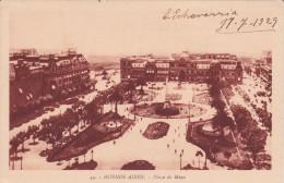 49 POSTAL DE BUENOS AIRES DE LA PLAZA DE MAYO DEL AÑO 1929 (ARGENTINA) - Argentinië