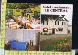 85 SAINT MICHEL EN L'HERM HOTEL RESTAURANT LE CENTRAL - Saint Michel En L'Herm