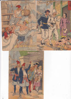 Aw - Lot De 3 Cpsm Illustrées JACK - Nos Marins - Barré Dayez - Illustrateurs & Photographes