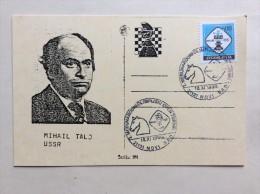 AK   SCHACH   CHESS   MIHAIL TALJ  USSR  1999. - Chess