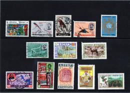 Etiopia - N. 13  Usati Differenti - Ethiopia