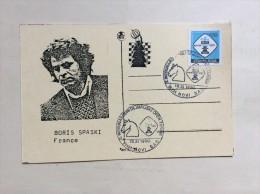 AK   SCHACH   CHESS   BORIS SPASKI  1990 - Chess