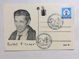 AK   SCHACH   CHESS   BOBBY FISCHER  1990 - Chess