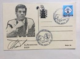 AK   SCHACH   CHESS   A.  KASPAROV    1990 - Chess