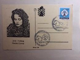 AK   SCHACH   CHESS   JAN  TIMAN   1990. - Chess