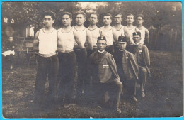 SOKOL VINKOVCI 1922. - CLANOVI  ( Croatia ) * Old Rare Postcard , Not Travelled - Croatia
