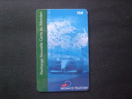 CARTE  TELEPHONE  MONACO MONTE CARLO INTERNATIONAL EURO 10 RARE!! - Monaco