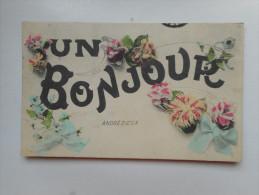 UN BONJOUR D ANDREZIEUX - Andrézieux-Bouthéon