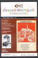REVUE: CARTES POSTALES ET COLLECTION, N°122, JUILLET AOUT 1988 - Francese