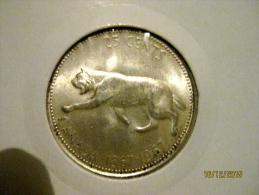 Canada 25 Cents 1967  (centenaire Du Dominion Of Canada) - Canada