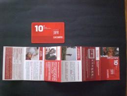 CARTE  TELEPHONE  FRANCIA 10 PEZ ! PLUS Brochure Pour Les Promotions, Les Blagues Et Les Poutres .. Rares Fois Ensemble - Frankrijk