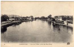 Compiegne Vue Sur L'oise Prise Du Pont Neuf - Compiegne