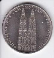 MONEDA DE ALEMANIA DE 5 MARK DEL AÑO 1980  (COIN) - [ 7] 1949-… : RFA - Rep. Fed. Alemana