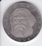MONEDA DE ALEMANIA DE 5 MARK DEL AÑO 1983 KARL MARX  (COIN) - [ 7] 1949-… : RFA - Rep. Fed. Alemana