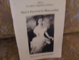 RARE ! Marie-Thérèse DENET-SINSIRT : SISSI à SASSETOT-le-MAUCONDUIT ,1996 - Normandie