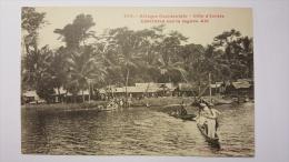COTE D'IVOIRE 939 EBOINDA Sur La Lagune ABI Afrique Occidentale CPA Animee Postcard - Ivory Coast