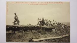 GUINEE 774 La Chaussee De DOUNE Entre Le BAFING Et La CARAVANSERAIL CPA Animee Postcard - Guinée