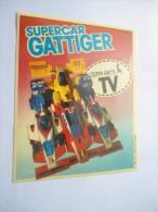 SUPERCAR GATTIGER - CEPPI RATTI  -    STICKER  ADESIVO  AUTOCOLLANT - PUBBLICITARIO - Pegatinas