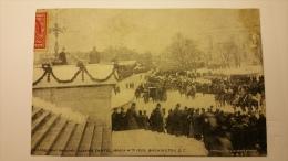 WASHINGTON DC Ex Presidnt Roosevelt Leaving Capitol March 4th 1909 Etats Unis Cpa Animee Postcard - Etats-Unis
