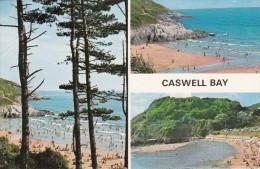 Cp , PAYS-de-GALLES , SWANSEA , Caswell Bay , Multi-Vues - Pays De Galles