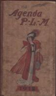 Agenda/P.L.M./Grand Agenda /Chemins De Fer Paris-Lyon-Méditerrannée/1912    TRA9 - Calendriers