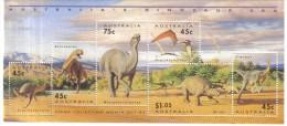 MAH584 AUSTRALIEN 1993 MICHL (1370/75) BLOCK 15 PRÄHISTORISCHE TIERE ** Postfrisch - Blocks & Kleinbögen
