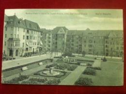 AK Berlin Steglitz Markus Platz Heinrich Seidel Straße 1917 - Steglitz