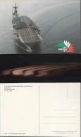 3177) NAVE SHIP INCROCIATORE PORTA AEREI GIUSEPPE GARIBALDI NON VIAGGIATA MA 1985 - Guerra