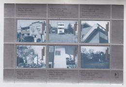 = 6 Vignettes De La Cité Frugès Le Corbusier à Pessac Gironde Vues Diverses Des Maisons Bloc Neuf Gommé Fabrication ITVF - Monuments