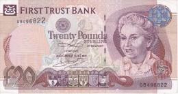 BILLETE DE IRLANDA DE 20 POUNDS DEL AÑO 2007 CALIDAD EBC (XF)  (BANKNOTE) - Irlanda