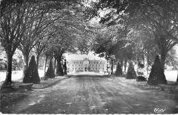 35 - BECHEREL : Chateau De Caradenc : Allée D'arrivée - CPSM Dentelée Noir Blanc Format CPA 1959 - Ille Et Vilaine - Bécherel